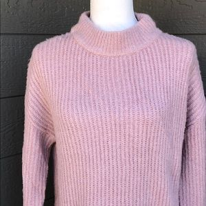 Staccato Mock Turtle Neck Tunic Sweater